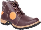 Haroads Ankle Length Boots (Brown)