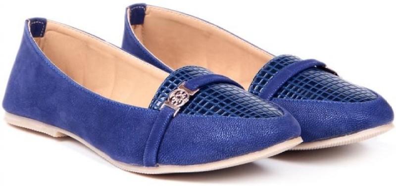 TEN Simply Women Loafers(Blue)