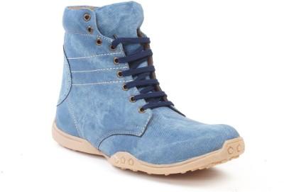 Bacca Bucci Tallbiker Boots(Blue)