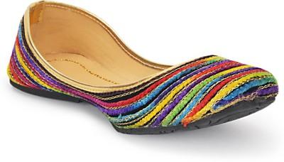 Paduki Ethnic Footwear Jutis(Multicolor)