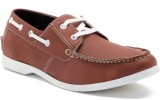 James Flippo Boat Shoes (Tan)