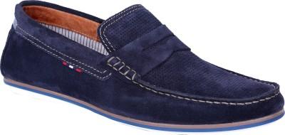 Gaitonde Oswald Navy Boat Shoes