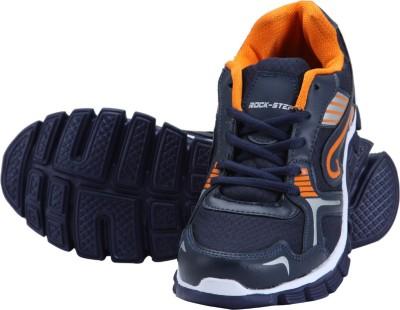 Rockstep Blue Orange Sports Running Shoes