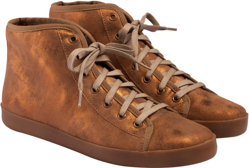 VAPH Audrey Hi-Top Sneakers(Brown)