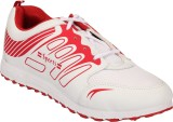 Touch Running Shoes (White, Red)