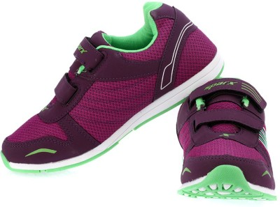 Sparx Trendy Mauve Green Running Shoes