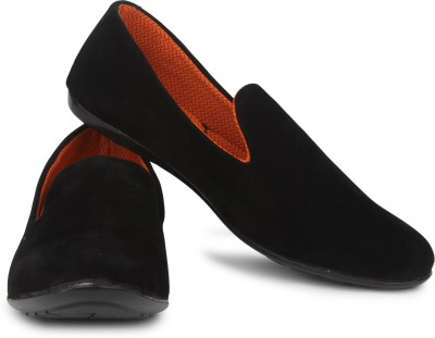 Musk Duck M-D-201Black Loafers