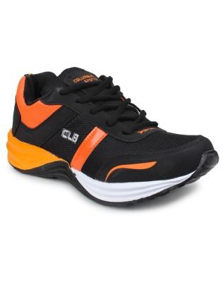 Columbus Running Shoes(Black, Orange)