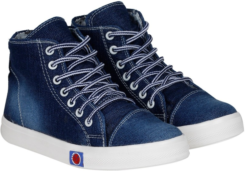 Kraasa StepUp Boots, Party Wear, Sneakers(Navy)