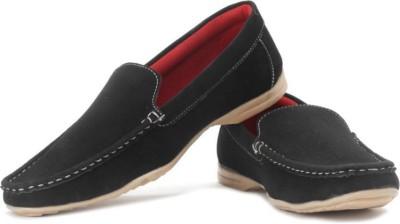True Soles Men Loafers(Black)