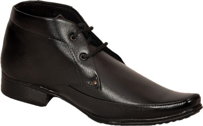Flute Style Black Formal Shoes