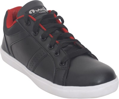1 WALK Relaxer Comfortable And Classic Sneakers-Black Sneakers