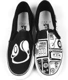 F-Gali The Music Box Slip-on Shoes Canva...