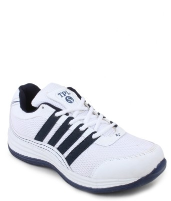 TPL White & Blue Running Shoes