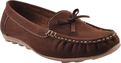 Real Blue Loafers(Brown)