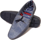 Roony Funky Boat Shoes (Blue)