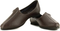 Bata Jalsa Men Smooth Leather Loafers(Brown)