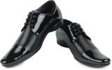 Shoe Island Designer Patent Black Derby ...