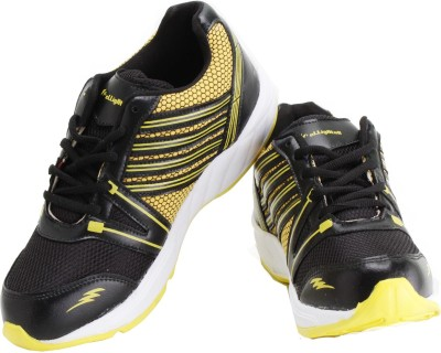 Elligator Running Shoes(Black) at flipkart