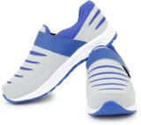 Acto Grey & Blue Men Running Shoes Runni...