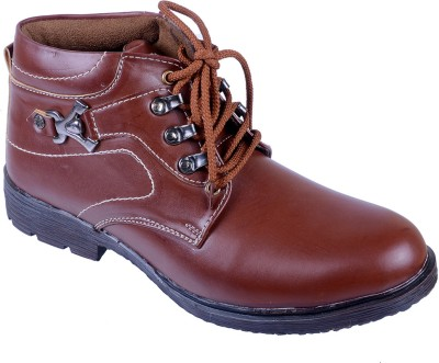 Porcupine Laced Boots