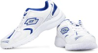 Lotto Trojan Running Shoes(White, Blue)