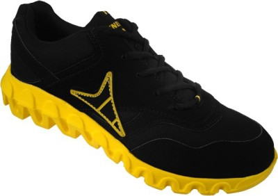 Action Black/Yellow Synergy Air Zone Z4126 Walking Shoes