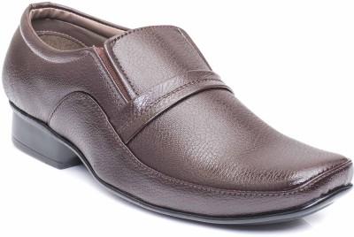 Fostelo Brown Slip On Shoes