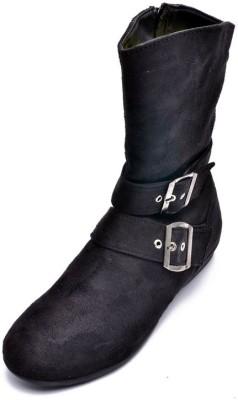 Bruno Manetti Aiimaa Boots(Black)