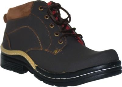 Shoekool Dynamic Brown Boots