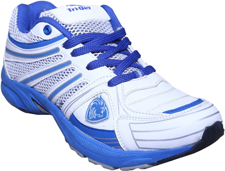Triqer White Running Shoes