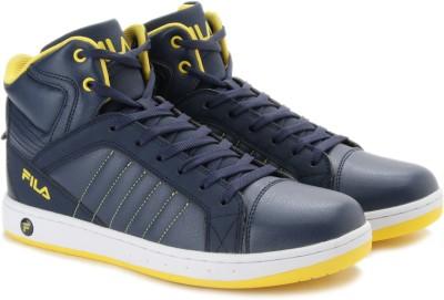 försäljning Storbritannien handla super specialerbjudanden 10% OFF on Fila SAMUEL Mid Ankle Sneakers on Flipkart ...