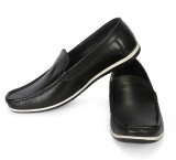 Jackboot Loafers (Black, Black)