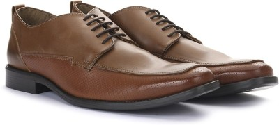 Knotty Derby Walden Derby Lace up(Tan)