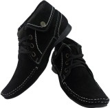 Elvace 9015 Casual Shoes (Black)