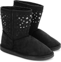 Carlton London Boots(Black) best price on Flipkart @ Rs. 1247