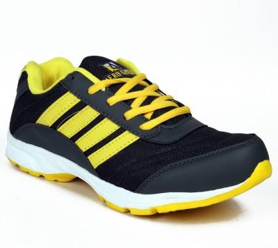 Star Ab Black-White Running Shoes