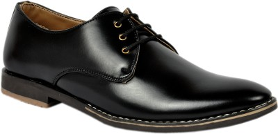 Footlodge Simple and Good Looking Corporate Casuals(Black)