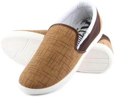 Anupamaa Brown Stylish Casuals Canvas Shoes