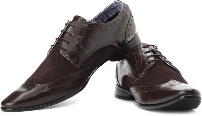Provogue Corporate Casuals(Brown)