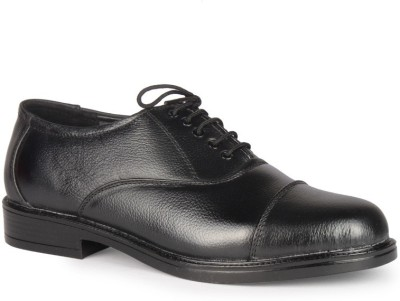 Leather King Adams Black Lace Up