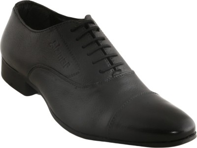 Cizmar Cizmar Formal Oxford Shoes in Black Leather Lace Up Shoes