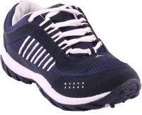 Samyam Navy Blue Sports Shoes Running Shoes(Navy)