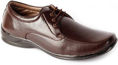 Shoes N Style Brown Formal-10 Lace Up