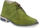 Molessi Molessi Men's Olive Leather Mid-...