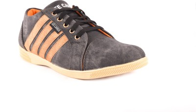 Theme United GL-017-BLK Boat Shoes