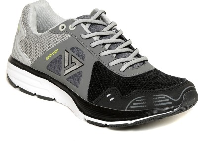 SEVEN Zeus Black/Pewter/Neutral Grey Running Shoes
