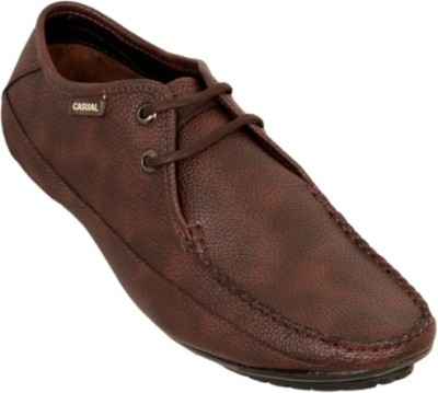 Ztoez Classybrown Casual Shoes