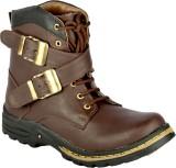 Fine Comfort Boots (Brown)