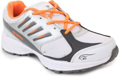 TOUCHWOOD Viber White/Grey Sports Running Shoes